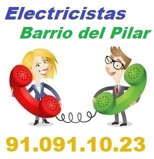 Telefono de la empresa electricistas Barrio del Pilar